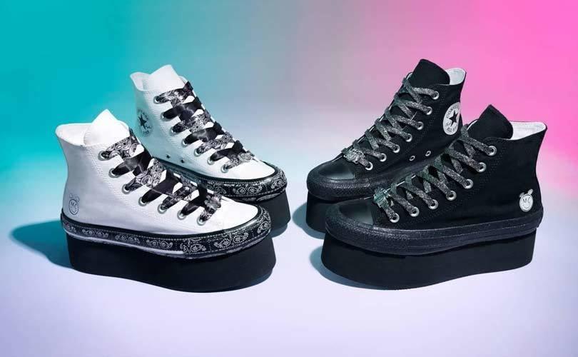 scarpe miley cyrus converse