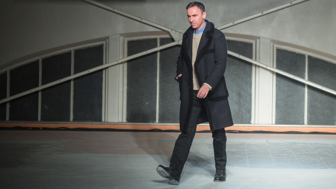 Raf Simons returns with the man in Paris