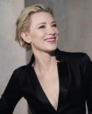 Giorgio Armani Beauty will continue to collaborate with the Oscar Cate Blanchett