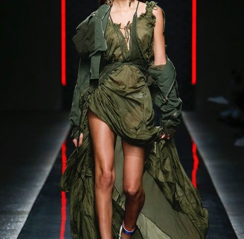 A Military Fantasy at DSquared2