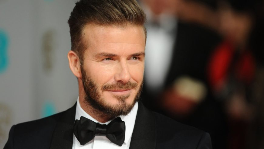 David Beckham is among the protagonists of the documentary Men of Style