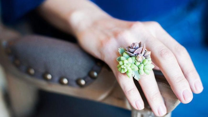 Green Jewelry: Even high-end jewelry turns to sustainable