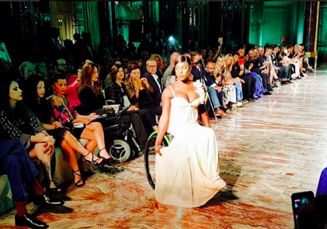 Inclusive Fashion: when the top model is in a wheelchair