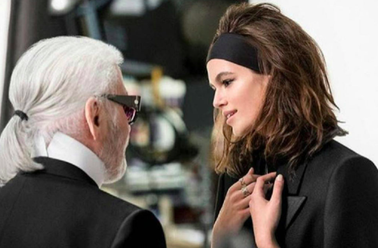 KARLXKAIA, the co-lab between Lagerfeld and Kaia Gerber has born