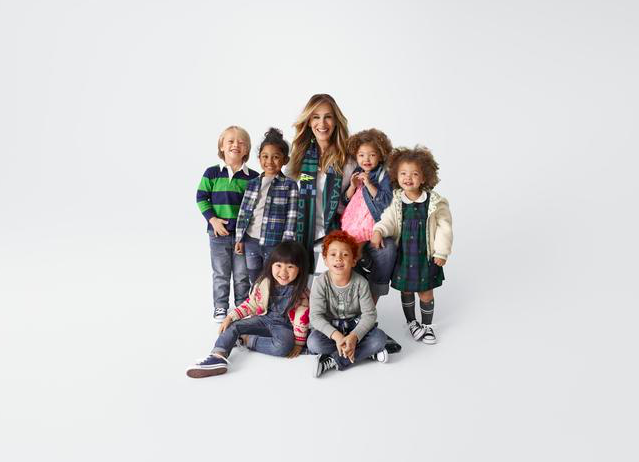 Sarah J. Parker signs Gap Kids capsules