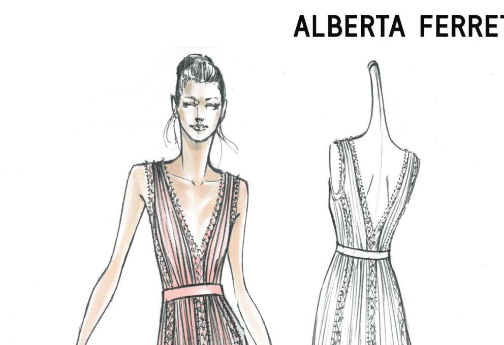 #FERRAGNEZ, Alberta Ferretti will dress the bridesmaids