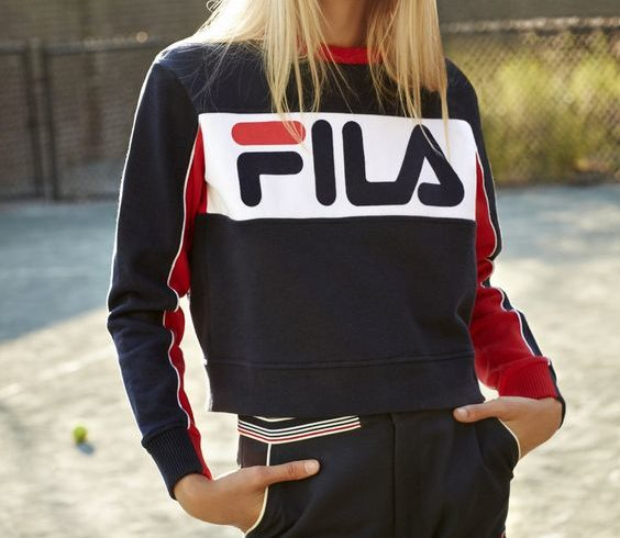Fila, back in the spotlight in a fashion key