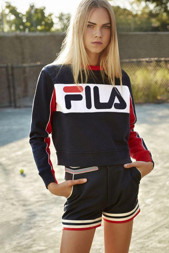 Fila, back in the spotlight in a fashion key
