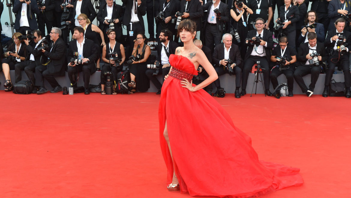 Venice, the Italian brands on the red carpet