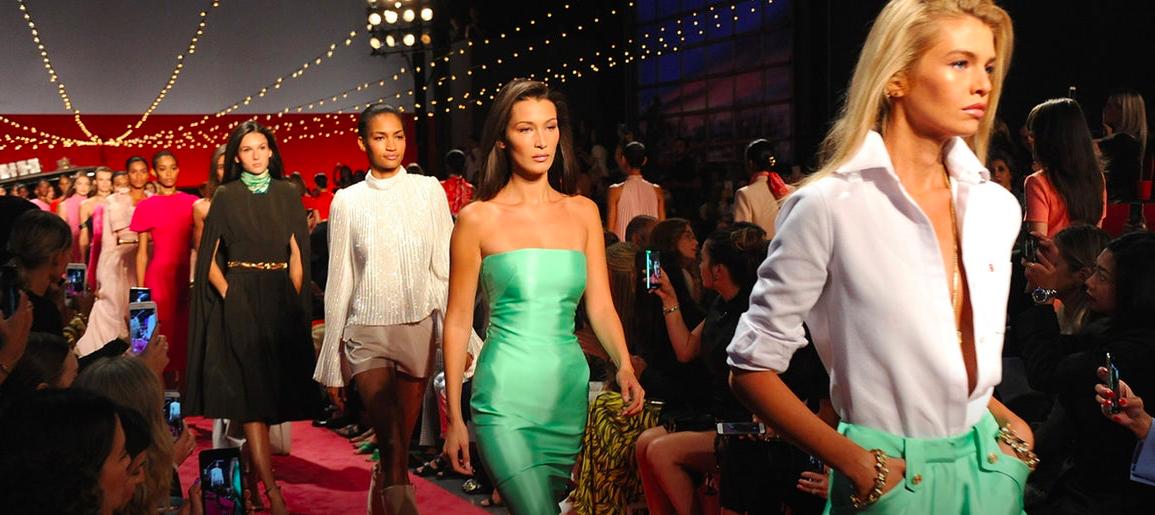 Old Millennials at New York Fashion Week
