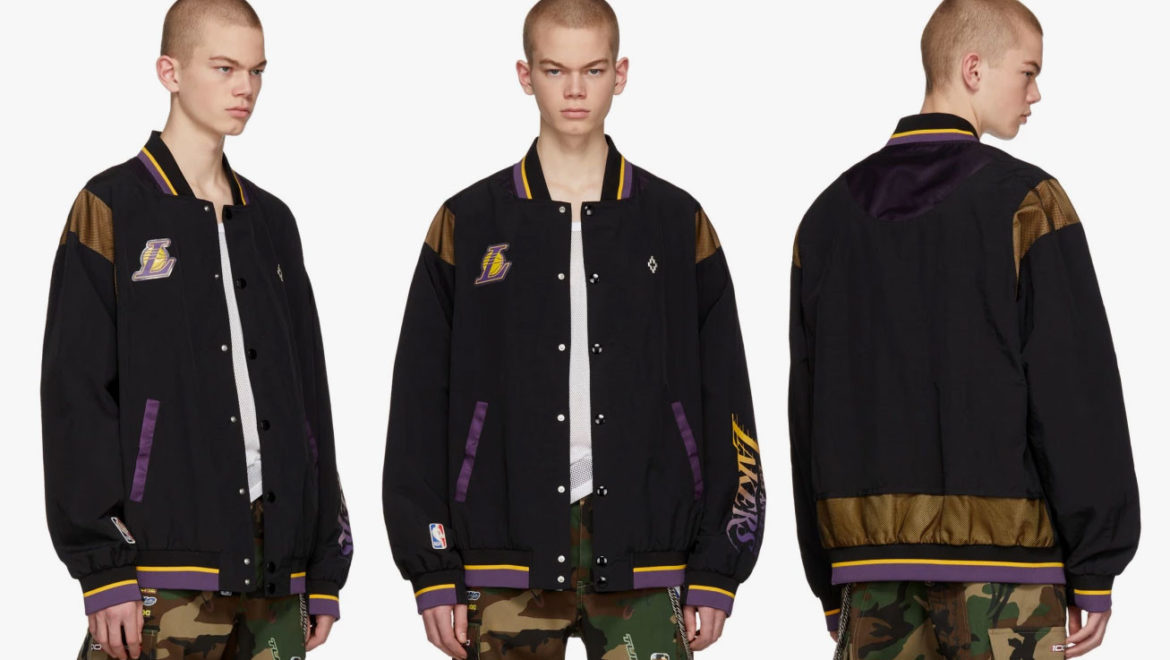 Marcelo Burlon County of Milan rilascia una giacca per i fan dei Los Angeles Lakers