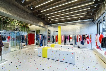 Msgm, the first shop in London