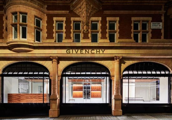 Givenchy in London: the new boutique is in New Bond Street
