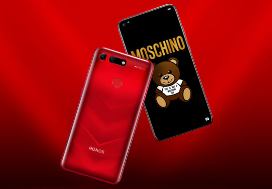 Honor View 20, the smartphone with the hole comes in the Moschino edition