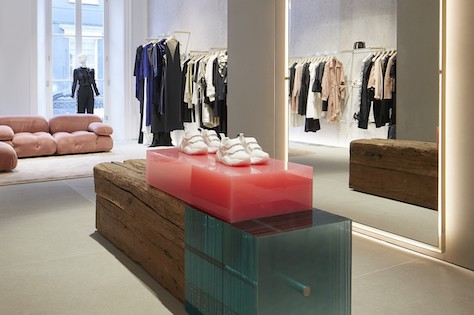 Stella McCartney, her London flagship store is the most sustainable in the world