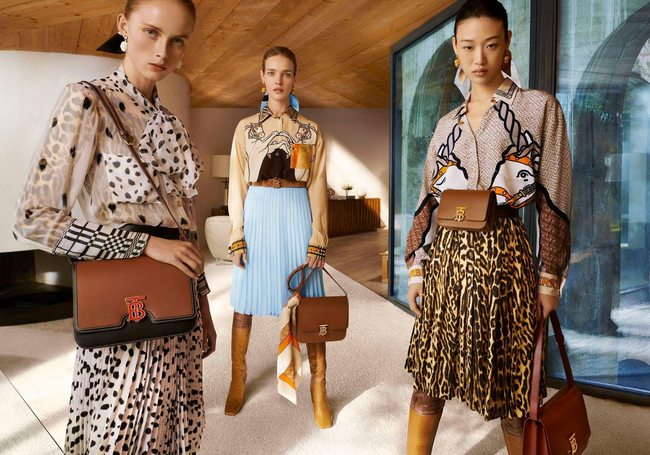 Riccardo Tisci launches his first campaign for Burberry
