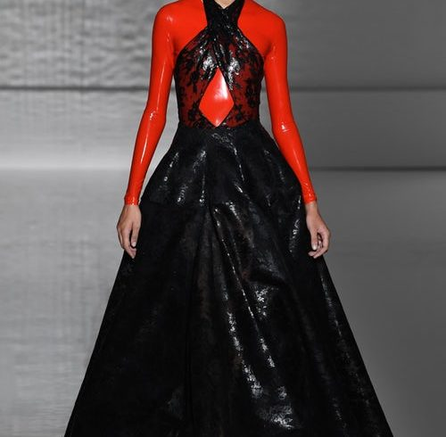 Contrast Creates Dynamism at Givenchy
