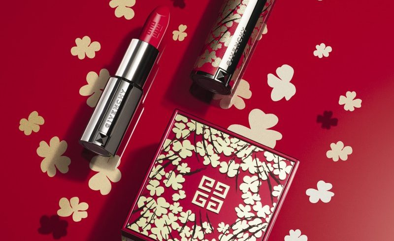 Givenchy celebrates the Chinese New Year with a limited edition of Prisme Libre and Le Rouge