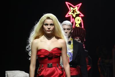 Stars, centurions and kings: Moschino pays homage to Fellini