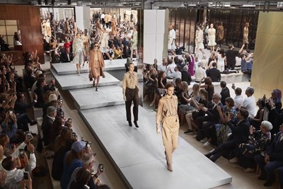 Burberry, Riccardo Tisci's collection debuts at Barneys