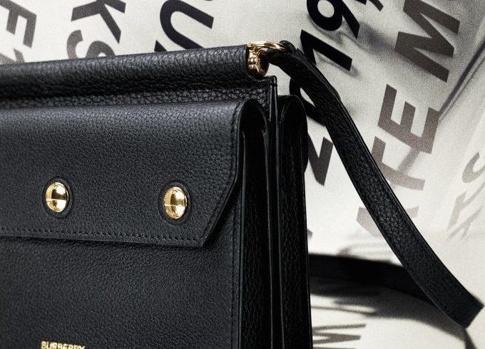 Burberry B Series Mini Title Bag Drop