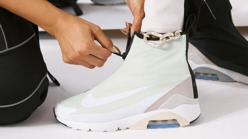 Special day for sneaker enthusiasts: in Michele Franzese's store the new Nike Ambush