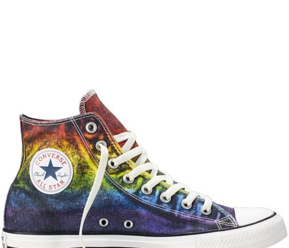 Rainbow and trans theme converse in the new line dedicated to Pride