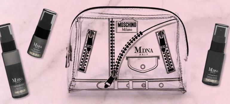 Madonna lancia 'capsule' skincare con Moschino