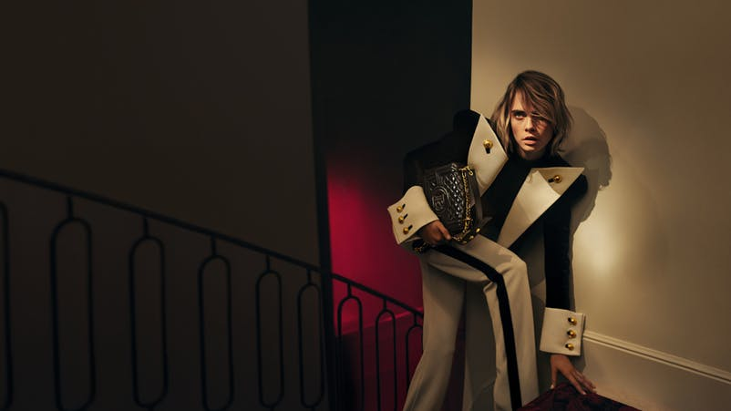 Cara Delevingne becomes a designer for Balmain