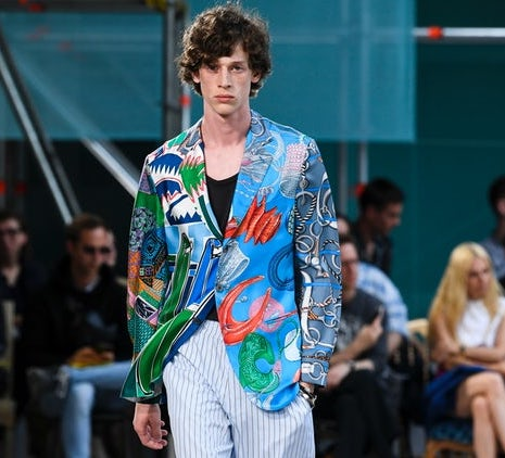 Summery Nonchalance at Hermès