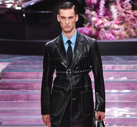 Sensational Tension at Versace