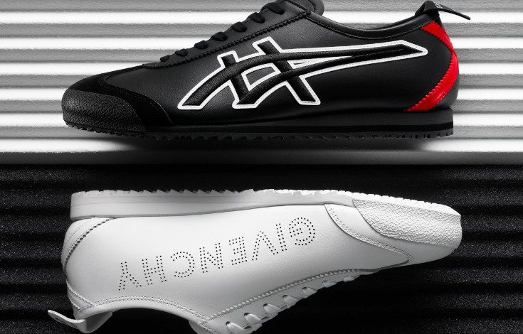 Givenchy teams up with Onitsuka Tiger