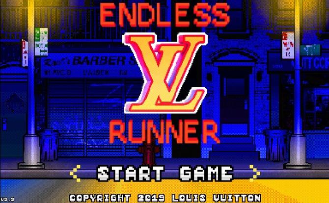 """Virgil Abloh designed """"Endless Runner"""" for Louis Vuitton"""