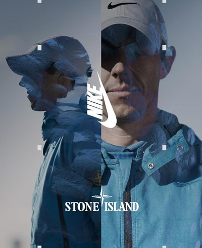 Nike e Stone island, co-lab per il golf