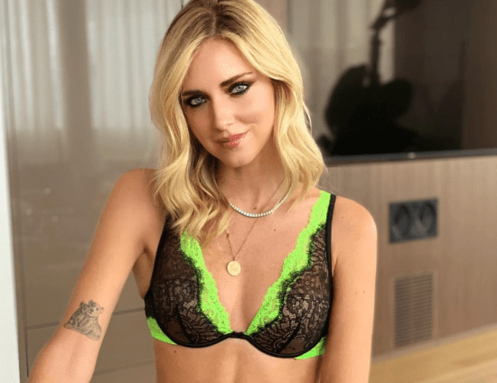 Autumn lingerie? It is sexy and bicolor: word of Intimissimi and Chiara Ferragni