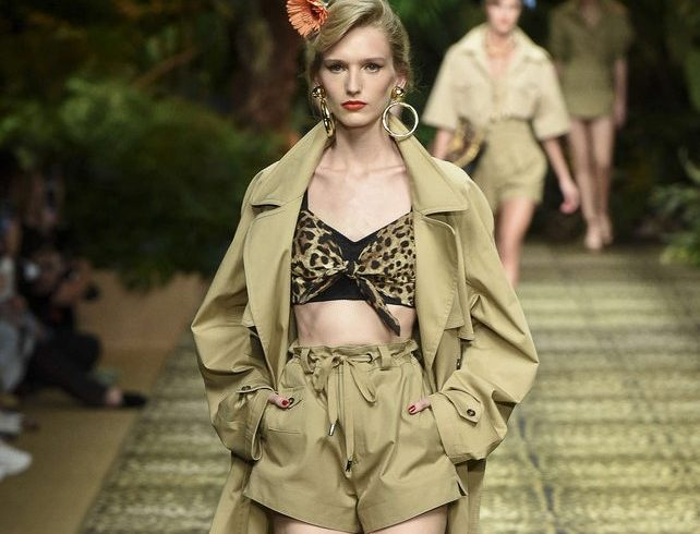 D&G jungle conquers Milan's catwalks