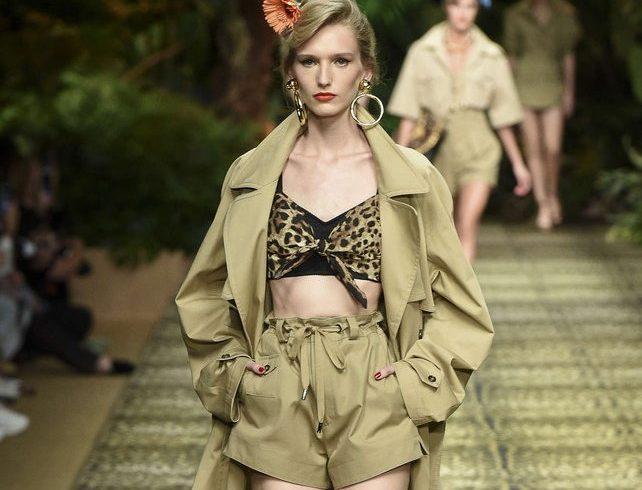 La giungla di D&G conquista le passerelle di Milano