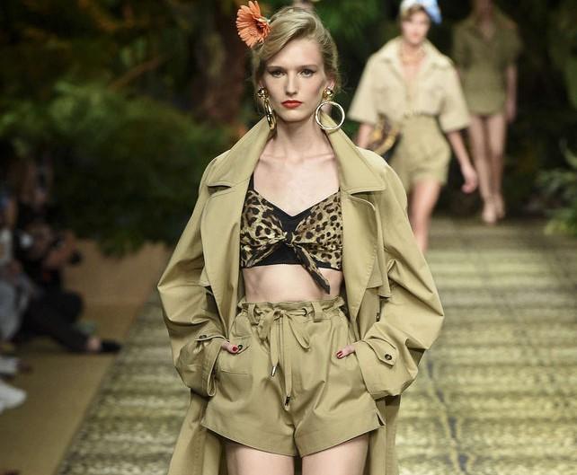 D&G jungle conquers Milan's catwalks