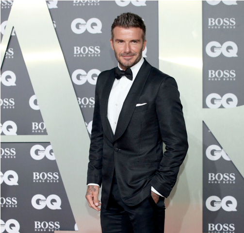 GQ Awards, David Beckham with Victoria star of the night