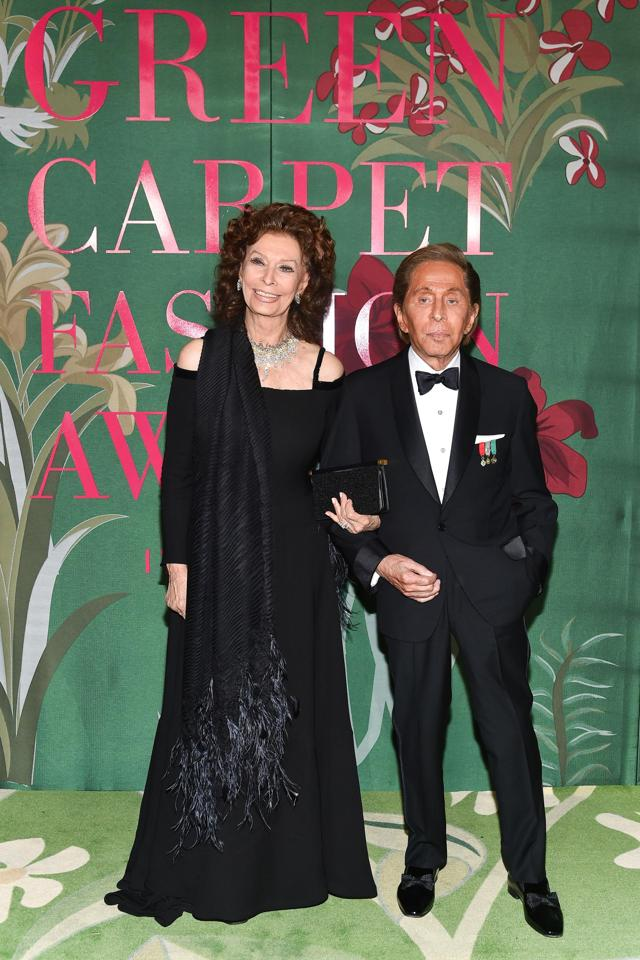 Green Carpet Fashion Awards, all the winners