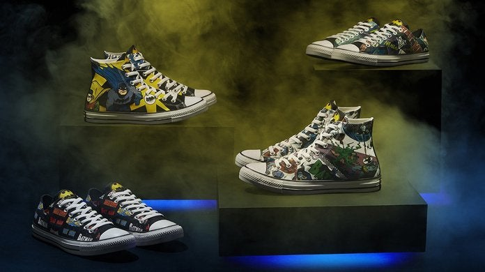 Batman: the Converse collection for the 80th anniversary of the Bat Man