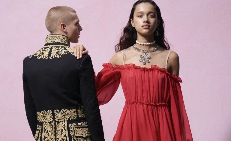 "Valli's luxury becomes ""democratic"" with H&M"