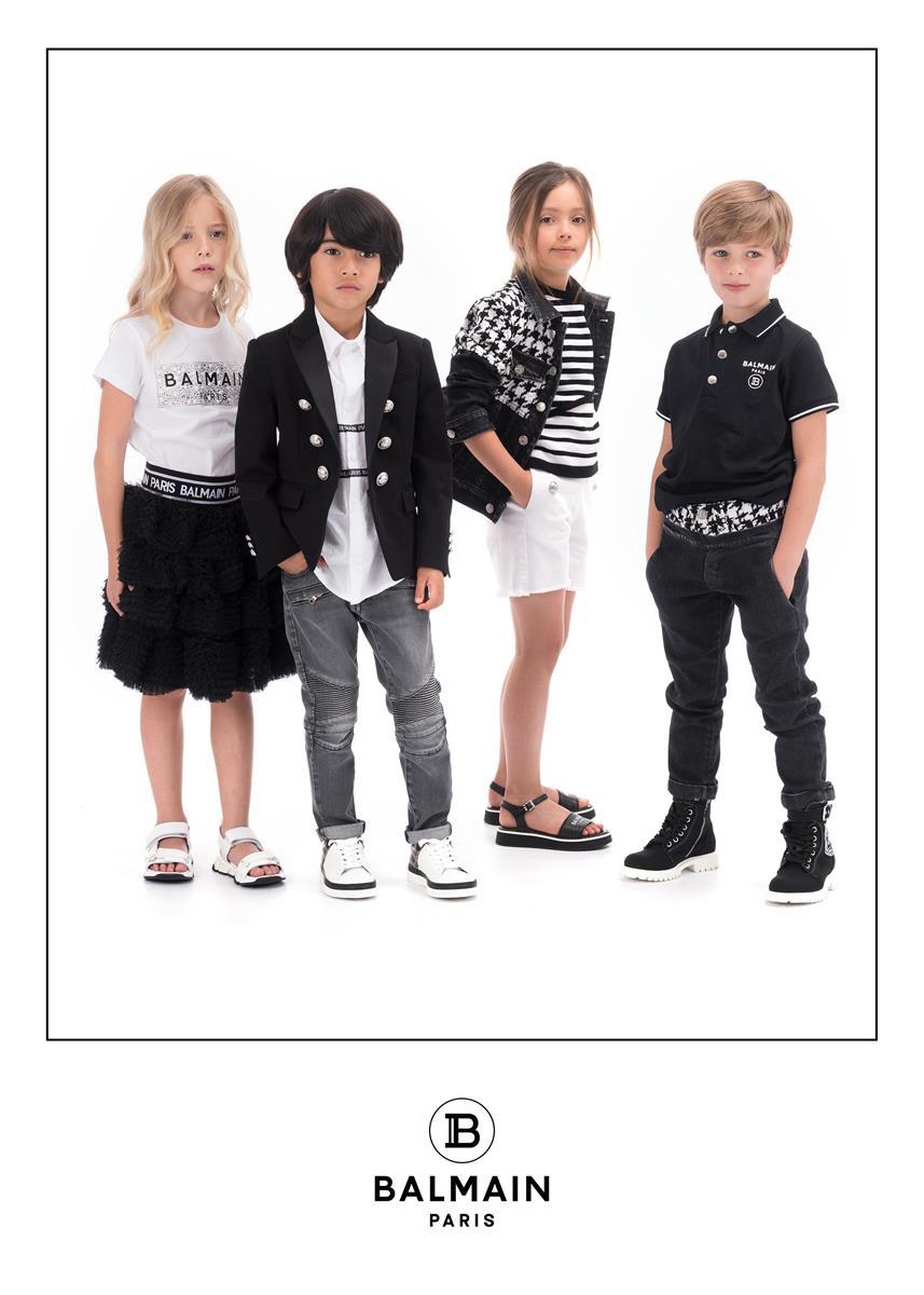 Balmain: fashion in mini format