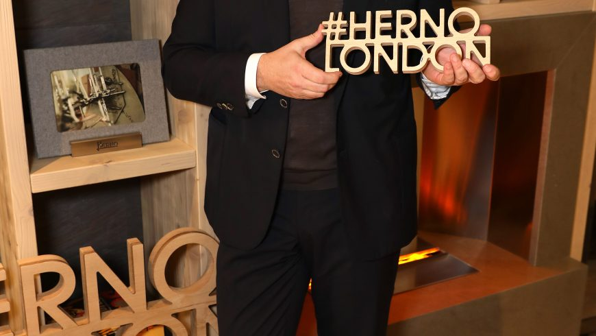 VIP parade in London for the new Herno flagship