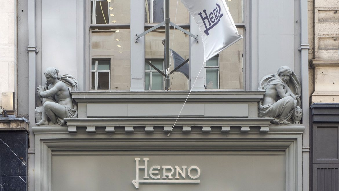 London Calling: Tomorrow in New Bond Street the new flagship of Herno