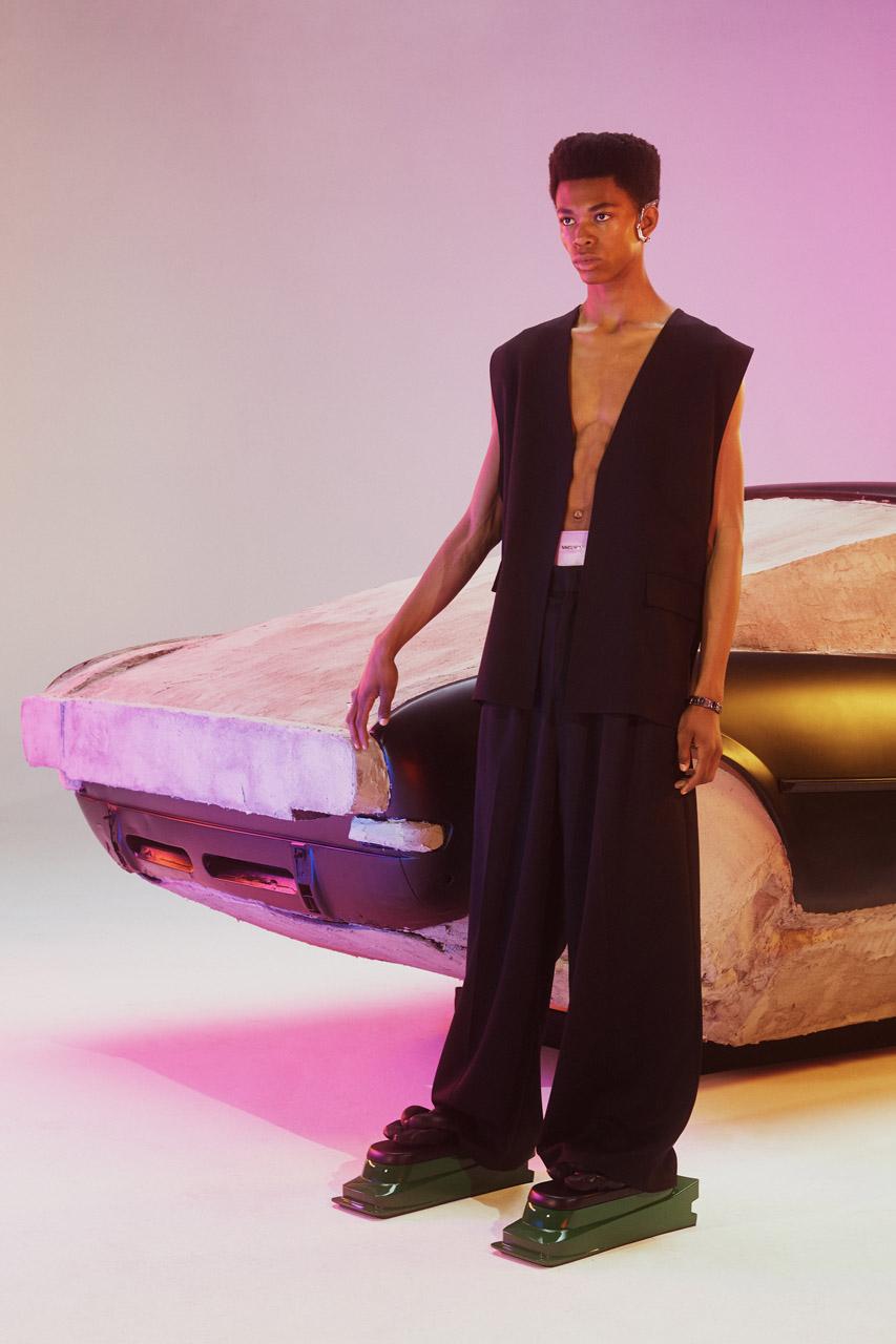 AMBUSH Sets Its SS20 Collection in a Futuristic Neon Daze