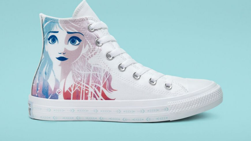 Converse by Frozen 2, the new collection of shoes dedicated to the Disney sequel