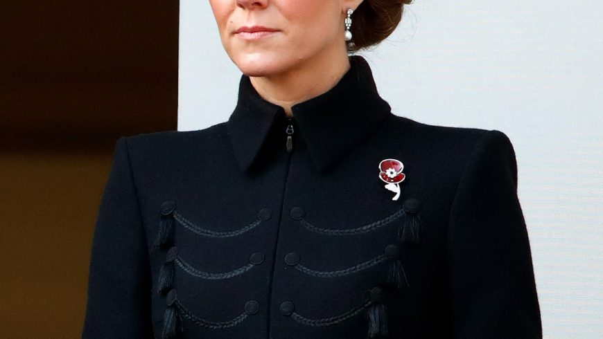 Kate Middleton: the Alexander McQueen look of Remembrance Sunday