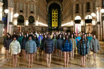 Moncler brings his House of Genius to Milan