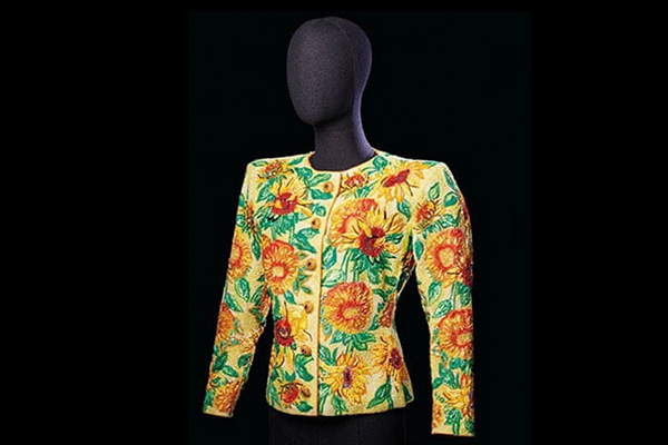 Record auction for vintage Yves Saint Laurent